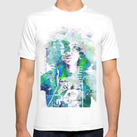 Ode To Badu Mens Fitted Tee White SMALL