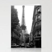 Around The Corner - Pari… Stationery Cards