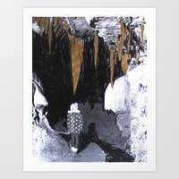 Cave Drawing VIII Art Print