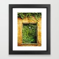 Nature Reclaims Framed Art Print