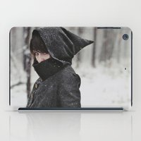 She was an assassin iPad Case