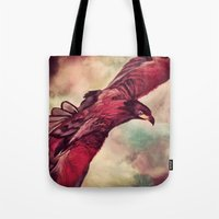 Eagle Splash Tote Bag