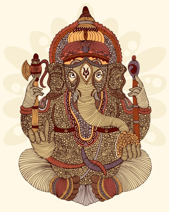 Ganesha: Lord of Success Art Print