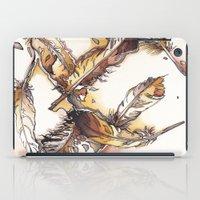 Chipewyan Feathers iPad Case