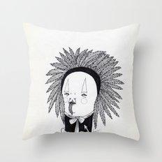 Apache Senior Throw Pillow