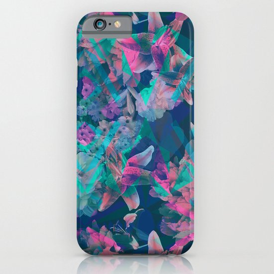 Geometric Floral iPhone & iPod Case
