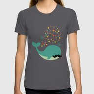 T-shirt featuring Firewhale by Andy Westface