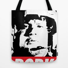 PORKINS HAS A POSSE Tote Bag