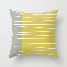 MId Century Modern Textu… Throw Pillow