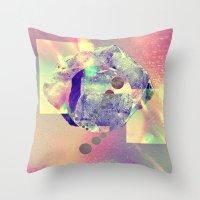 Mineral Space Fun Throw Pillow