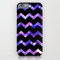 Chevron Galaxy iPhone 6 Slim Case
