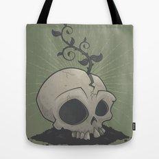 Skull Garden Tote Bag