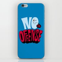 No Offense iPhone & iPod Skin