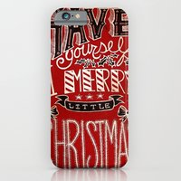 Have Yourself A Merry Little Christmas iPhone 6 Slim Case