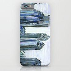 Gray Philadelphia Skyline iPhone 6 Slim Case