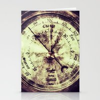 A Change In Weather  |  Antique Barometer Stationery Cards
