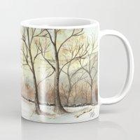 Snowy Forest Mug