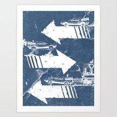Back to the Future Minimalist Poster Art Print