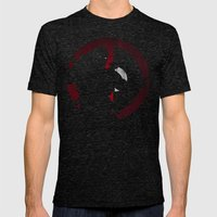 Dead Pool Mens Fitted Tee Tri-Black SMALL
