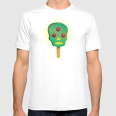 3rd ice cream White Mens Fitted Tee SMALL
