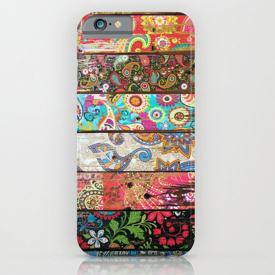 Paisley Planks iPhone & iPod Case