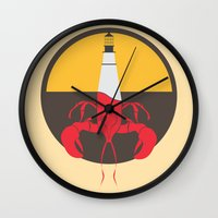 Lobster House Wall Clock
