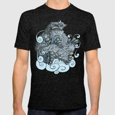 Yeti Mens Fitted Tee Tri-Black SMALL