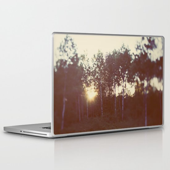 Silent Birch Laptop & iPad Skin