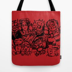 Street seller from hell Tote Bag