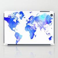 Watercolour World iPad Case