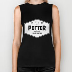 Potter Authentic Relic Hunting Biker Tank