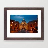 Basilica Papale Di San P… Framed Art Print
