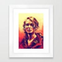 Abraham's Daughter Framed Art Print