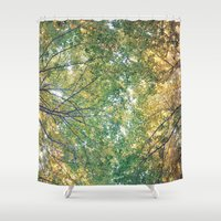 Forest 014 Shower Curtain