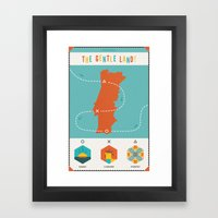 Portugal - The Gentle La… Framed Art Print