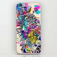 Doodle In Color iPhone & iPod Skin