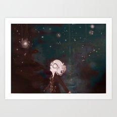 Atoms Art Print
