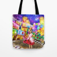 Meet Me In Japan. Tote Bag