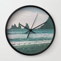 Vík, Iceland Wall Clock