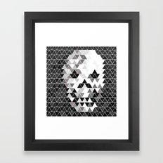 The SKULL Framed Art Print