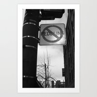 Sign Of The Times Art Print