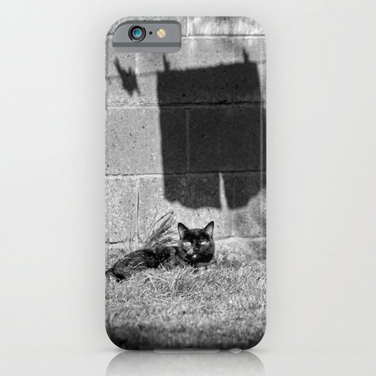 The cat and the pants iPhone & iPod Case