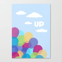Pixar/Disney Up (Print 2… Canvas Print