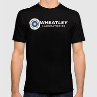 Wheatley Laboratories Mens Fitted Tee Black SMALL