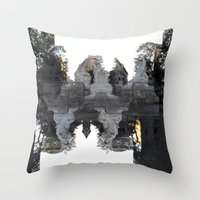 Reflections, On Reaction… Throw Pillow