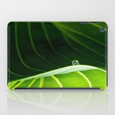 in green iPad Case