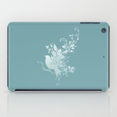 Flower Bird iPad Case