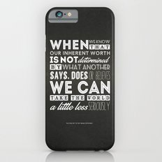 The Fine Art Of Not Being Offended iPhone 6 Slim Case