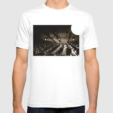 Control Mens Fitted Tee SMALL White