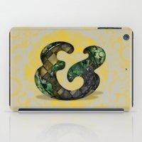 Ampersand Series - Cooper Std Typeface iPad Case
